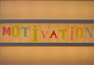 "Letters spelling ""motivation"""