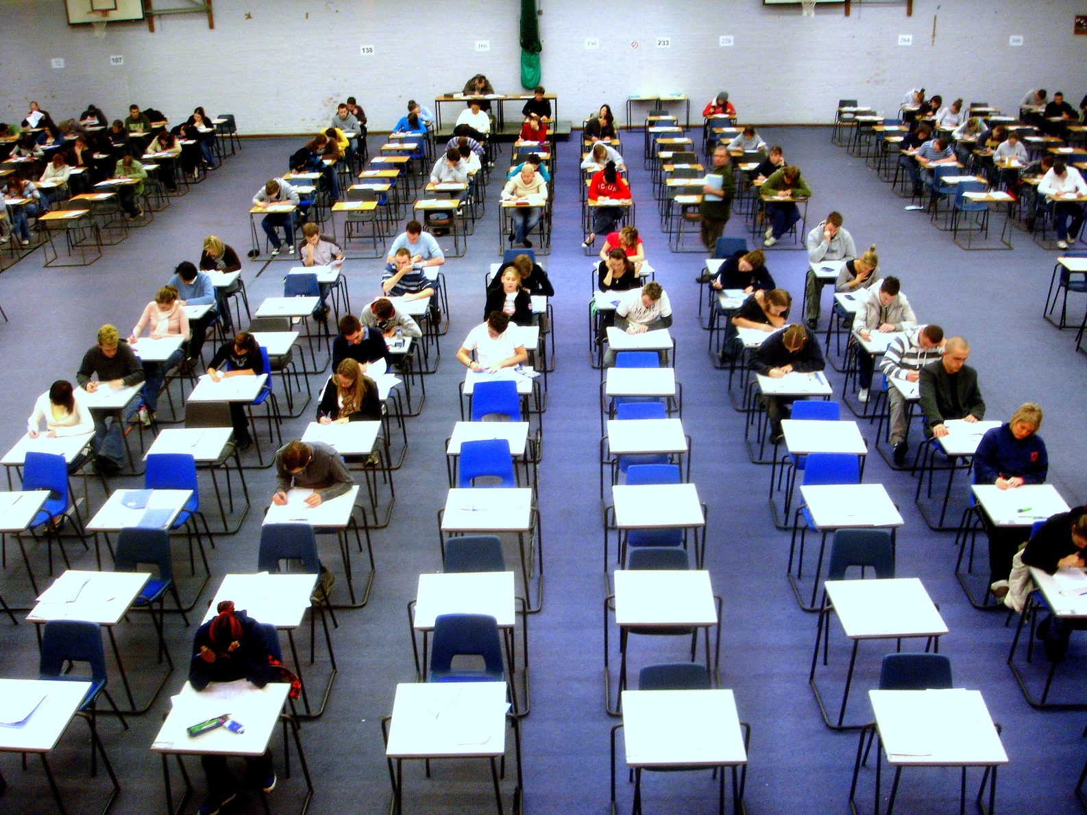 image of exam hall