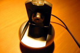 A webcam on a deak